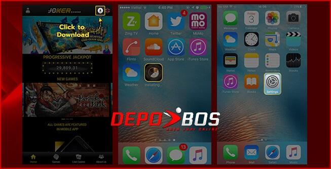 step download ios joker99 pertama